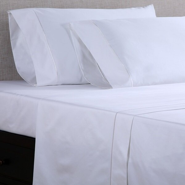 1000 Thread Count 100%  Cotton Sateen Sheet Set by Affluence Home Fashions